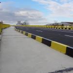 Noul pod poate fi tranzitat atât de către șoferi cât și de pietoni