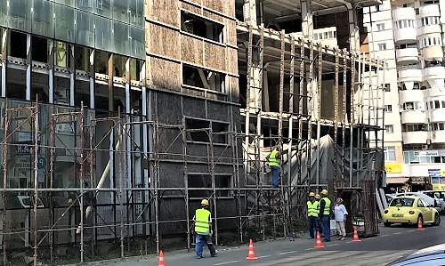 A început refacerea hotelului Moldova