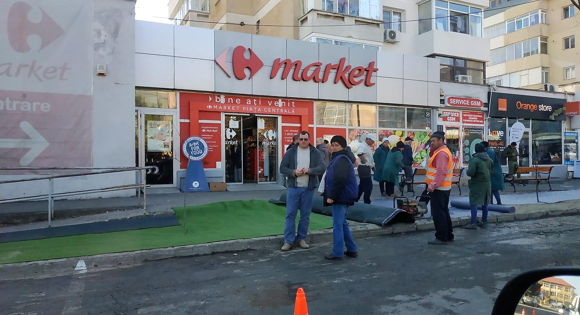 Cum crește gazonul în municipiul Bacău